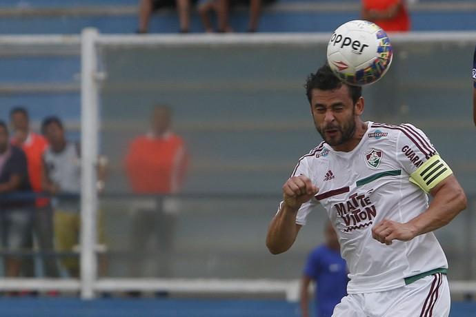 Fred em jogo Madureira x Fluminense (Foto: Rui Porto Filho/Agência Estado)