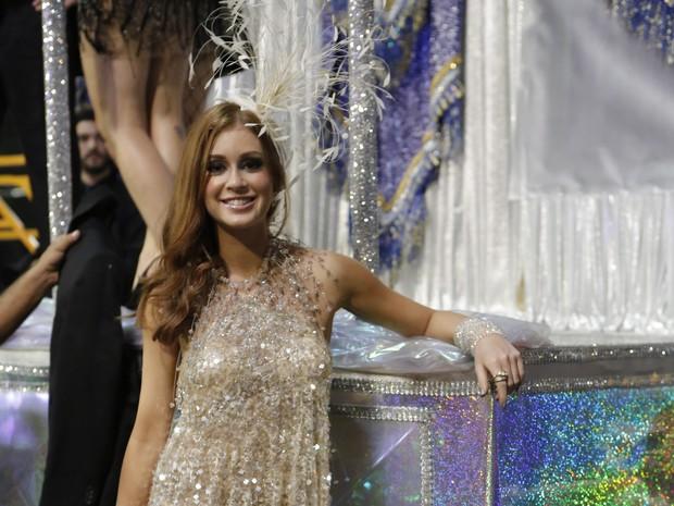 Marina Ruy Barbosa também gravou as cenas carnavalescas de Império (Foto: Felipe Monteiro/Gshow)