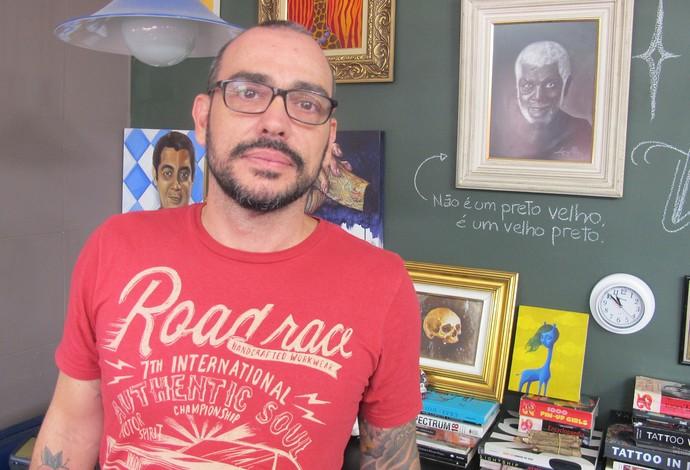 Tatuador Flamengo (Foto: Ivan Raupp)