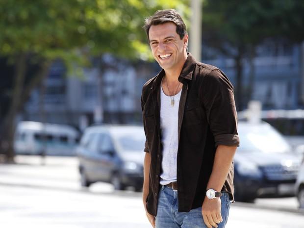 Rodrigo Lombardi vai interpretar o capitão Théo (Foto: Salve Jorge/TV Globo)