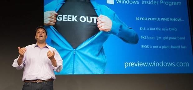 Terry Myerson, vice-presidente executivo do grupo de sistemas operacionais da Microsoft (Foto: Agência EFE)