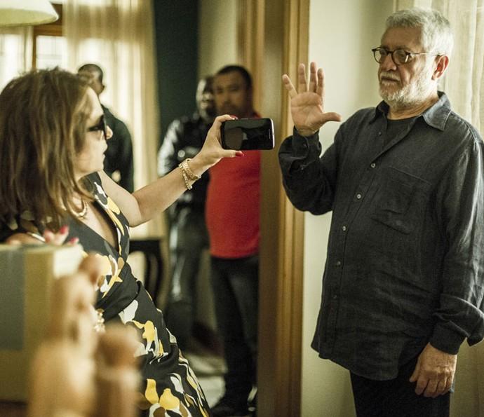 Drica Moraes sempre arrasando na atuação (Foto: Ellen Soares/Gshow)