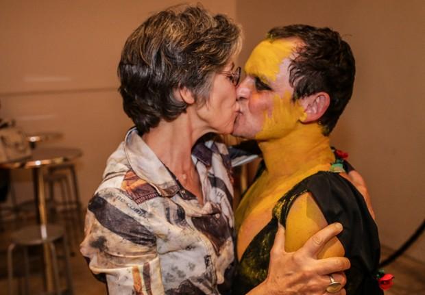 Matheus Nachtergaele e Cássia Kis Magro (Foto: Francisco Silva/AgNews)