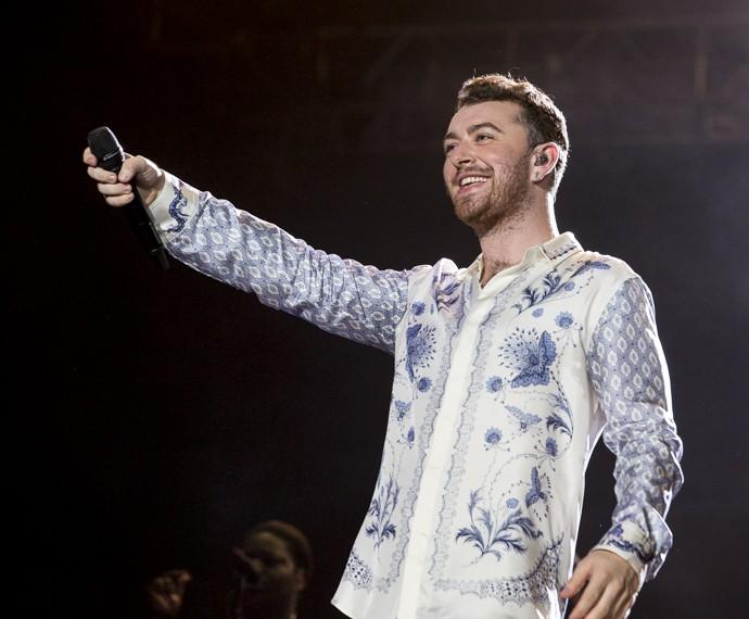 Sam Smith desabafou sobre ex-namorado que o inspirou a compor seu álbum (Foto: Felipe Monteiro/Gshow)