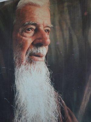 """""""Você percebe no olhar que ele está enxergando algo divino"""", diz Jorge dos Santos  (Foto: Reprodução/G1 SE)"""