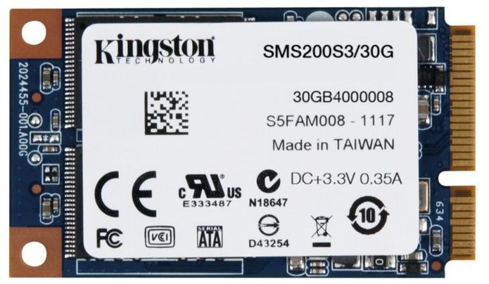 SSDNow mS200 é o mais 'barato' da lista (Foto: Divulgação/Kingston)