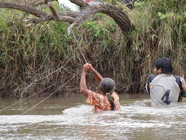 MPF/MS ajuiza recurso para que índios permaneçam em área ocupada em Pyelito Kue, em Iguatemi (Foto: Divulgação/MPF)