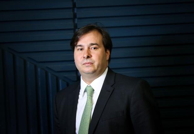 O presidente da Câmara dos Deputados, Rodrigo Maia (DEM-RJ) (Foto: Marcelo Camargo/Agência Brasil)