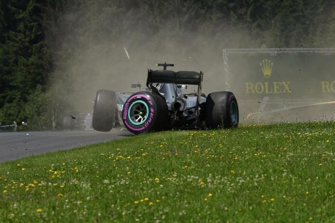 Nico Rosberg bateu no 3º treino livre para o GP da Áustria (Foto: Divulgação)