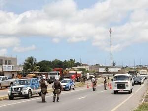 Operação foi realizada em todo país (Foto: Divulgação / Secretaria de Segurança Pública da Bahia)