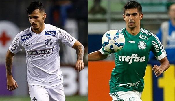 Santos e Palmeiras se enfrentam no primeiro confronto da final da Copa do Brasil (Foto: Divulgação)