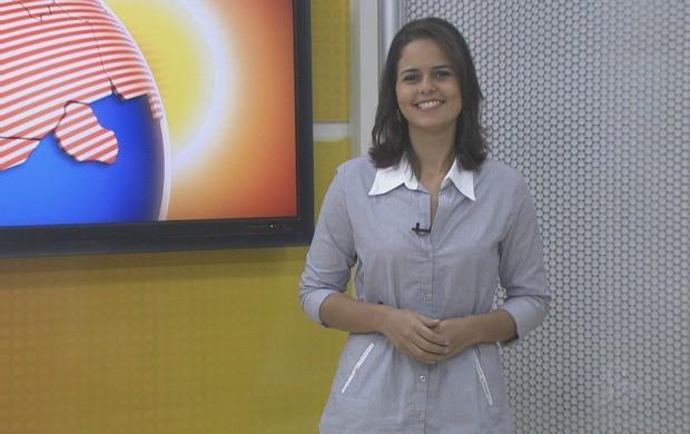 Sâmia Roberta falou as novidades do novo programa. (Foto: Bom Dia Amazônia)