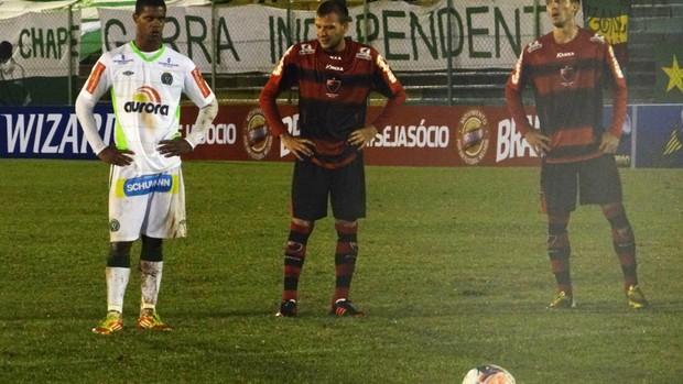 Bruno Rangel, Chapecoense x Oeste (Foto: Aguante/Chapecoense)