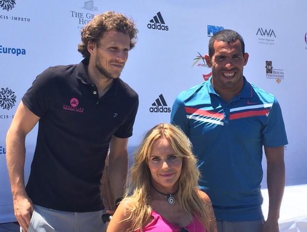 BLOG: Tevez e Forlán participam de torneio beneficente de golfe no Uruguai