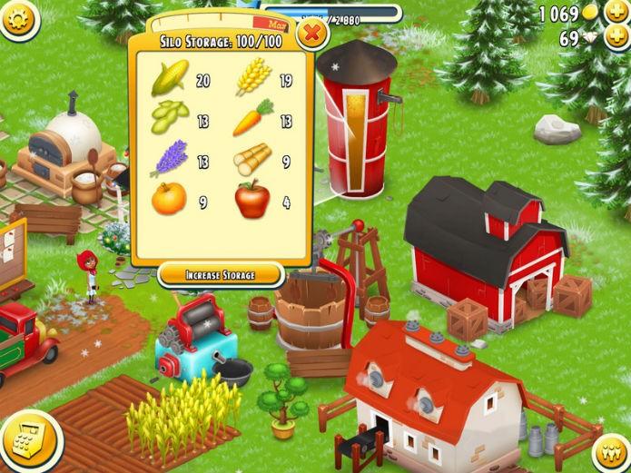 Hay Day: Equilibre entre vender e plantar sementes (Foto: Reprodução)