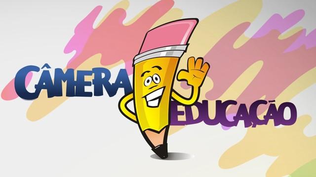 O Projeto Câmera Educação está em nova etapa, com o envio da redação acessando o tvtribuna.com/cameraeducacao (Foto: Arte / TV Tribuna)