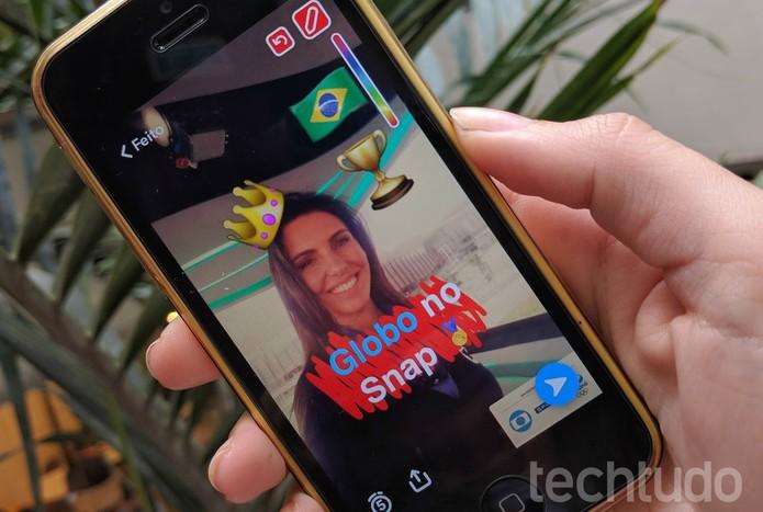 Globo fecha parceria com Snapchat (Foto: Carolina Oliveira/TechTudo)