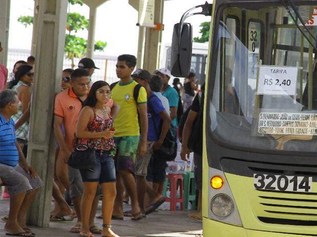 Passagem de ônibus em São Luís sofreu reajuste (Foto: Divulgação / Fabrício Cunha)