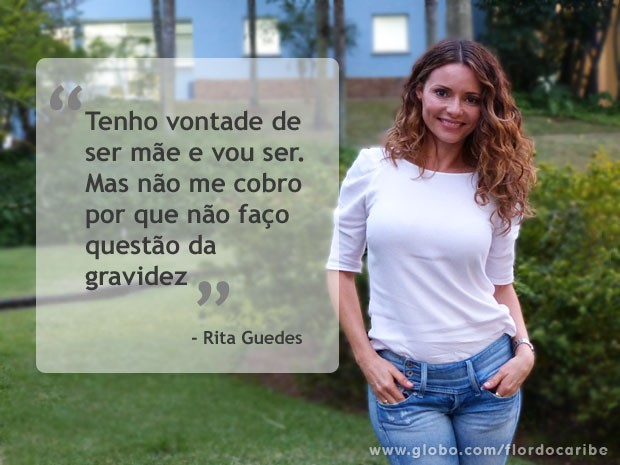 Rita Guedes (Foto: Flor do Caribe / TV Globo)