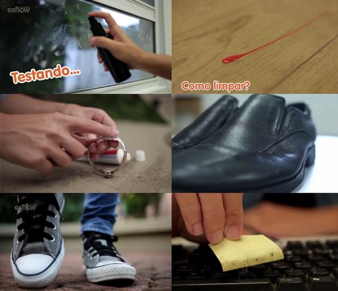 Aprenda como fazer para deixar várias coisas brilhando: de tênis a chão sujo de esmalte (Foto: Divulgação)