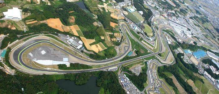 Circuito de Suzuka, palco do GP do Japão