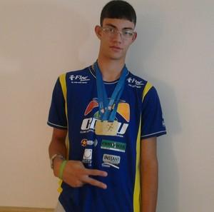 Rodrigo Parreira, para-atleta de atletismo de Uberlândia (Foto: Arquivo Pessoal/Rodrigo Parreira)