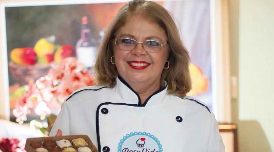 Clênia Galvão aposta em doces sem açúcar  (Foto: Divulgação / Sebrae )