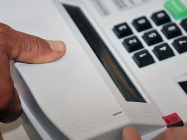 Biometria SC (Foto: Tribunal Superior Eleitoral/Divulgação)