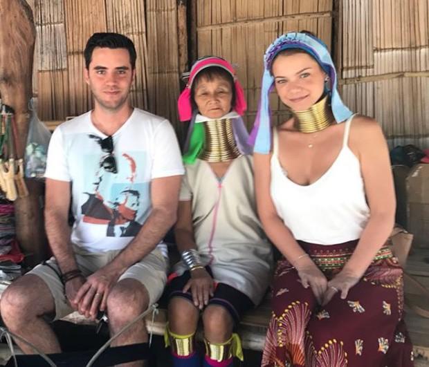 Milena Toscano e Pedro Ozores em lua de mel na Tailândia (Foto: Reprodução/Instagram)