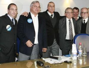Bellini, Odone e Koff concorrem no segundo turno na eleição do Grêmio (Foto: Wesley Santos/Agência PressDigital)