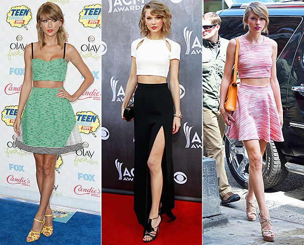[MODA] Taylor Swift (Foto: Getty Images e Reuters/Agências)