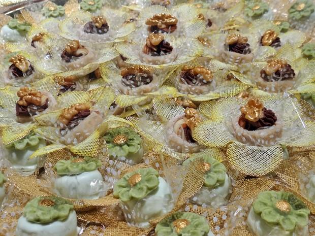 Doces de nozes e pistache (Foto: Gabriela Duarte / Gshow)