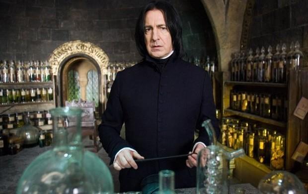 Alan Rickman no papel do Professor Snape (Foto: Divulgação/Warner)