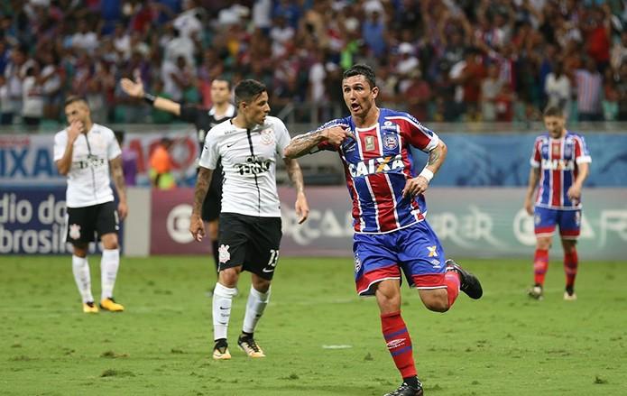 BLOG: Jogo rápido da 28ª rodada: Corinthians perde para o Bahia, mas vantagem para o vice diminui apenas um ponto