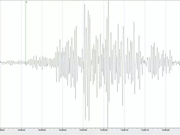 Instituto de Astronomia da USP registrou o tremor (Foto: Reprodução/ TV TEM)