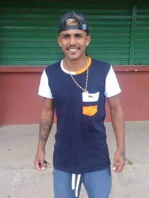 Magno, ex-lateral-direito da Desportiva Ferroviária, agora vai para o Itabaiana, de Sergipe (Foto: Wagner Chaló/GloboEsporte.com)