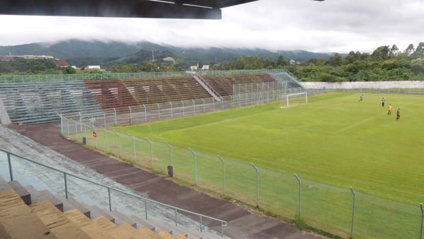 Estádio Francisco Ribeiro Nogueira, o Nogueirão  (Foto: Globoesporte.com)