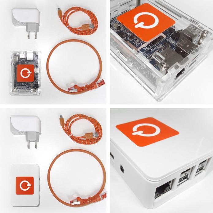 Caixa pode se conectar à rede para aumentar privacidade (Foto: Reprodução/Indiegogo)