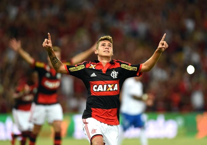 Matheus Sávio, Flamengo x Nacional (Foto: André Durão)