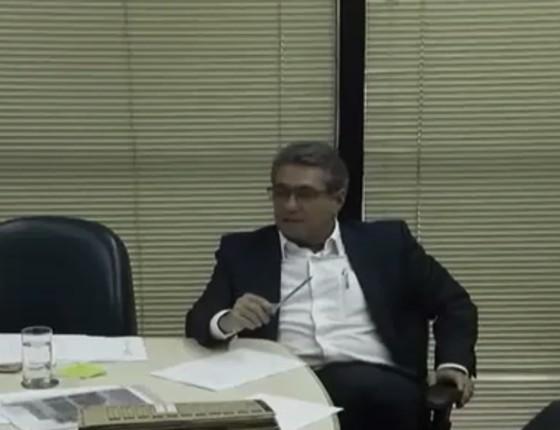 Ricardo Saud, lobista da J&F, em depoimento para o acordo de delação premiada (Foto: Reprodução)