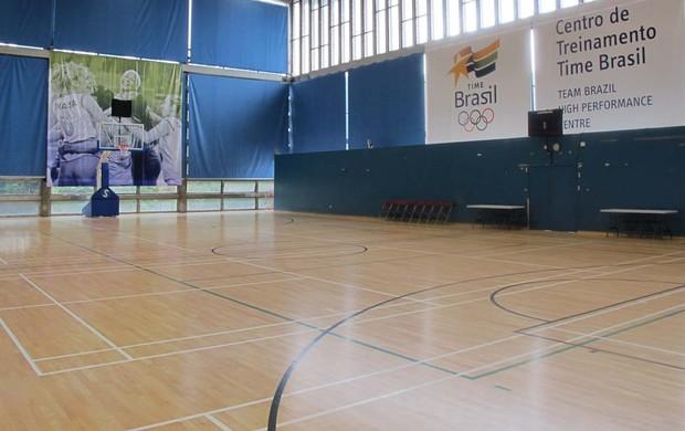 quadra de basquete Crystal Palace (Foto: Danielle Rocha/ Globoesporte.com)