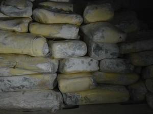 Queijos mofados foram encontrados (Foto: Ministério Público/Divulgação)