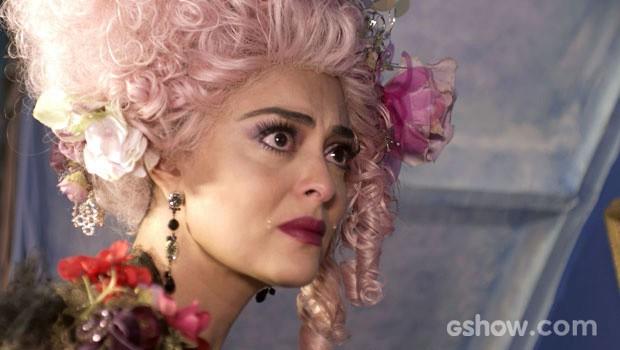 Juliana está revoltada com a atitude do marido (Foto: Meu Pedacinho de Chão/TV Globo)