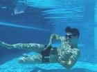 Biel cria polêmica com foto na piscina e divide opiniões