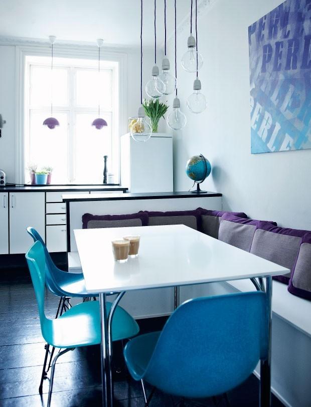 Top 10 salas de jantar azuis (Foto: divulgação)