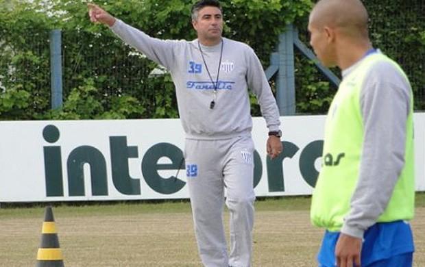 alexandre gallo avaí treino (Foto: Divulgação / Site Oficial do Avaí)