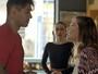 Alina briga com Uodson e toma decisão radical