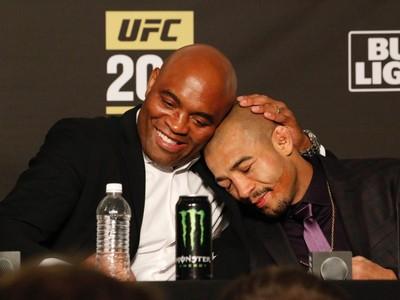 Anderson Silva, José Aldo, UFC 200, MMA (Foto: Evelyn Rodrigues)