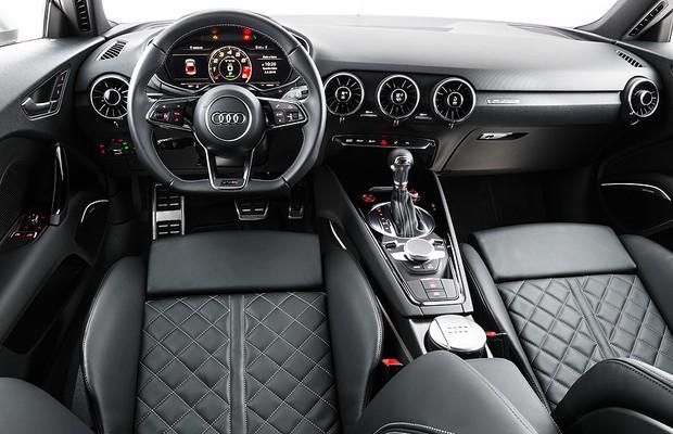 Interior do Audi TTS  (Foto: Divulgação)
