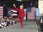 Clinton e Trump tentam ganhar votos dos indecisos na véspera da eleição